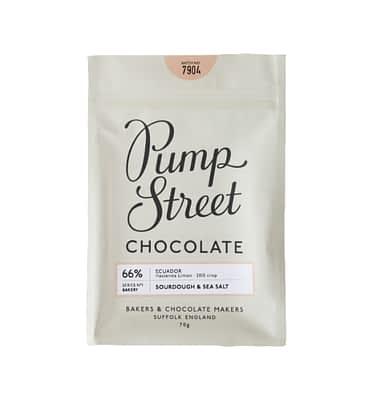 Pump Street Chocolate Sourdough & Sea Salt