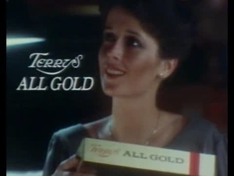 Terry's tv ad showing chocolate and love together