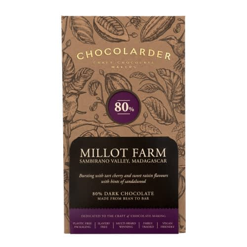 Chocolarder - Millot Farm, Madagascar 80% Dark Chocolate