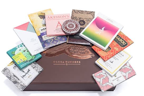 Luxury gift hampers filled with the World's best craft chocolate | Cocoa Runners Craft Chocolate