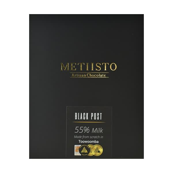 Metiisto - Black Post, Solomon Islands 55% Milk