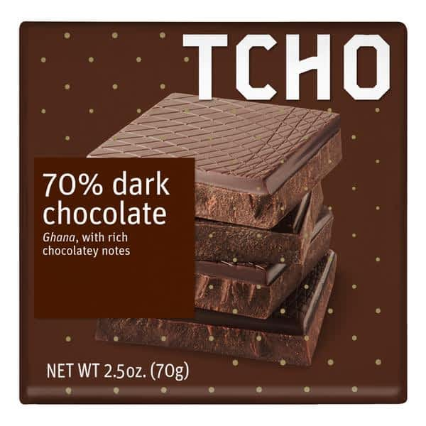 TCHO - PureNotes Dark Chocolatey 70%