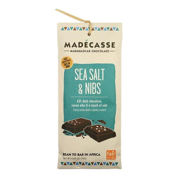 Madecasse Sea Salt & Nibs