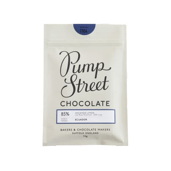 Pump Street Bakery - Ecuador 85% (Carton of 10)