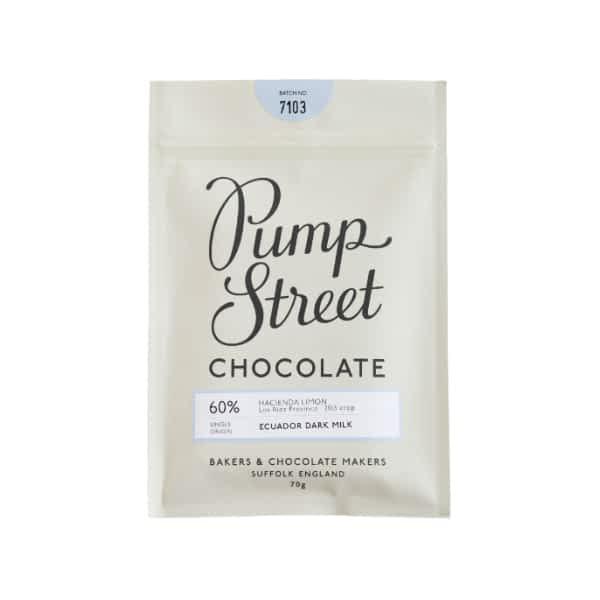 Pump Street Chocolate - Ecuador Dark Milk 60%