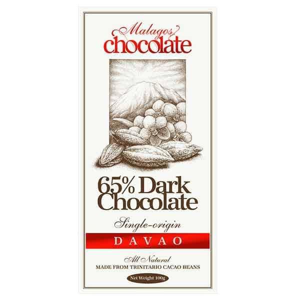Malagos Dark Chocolate 65%