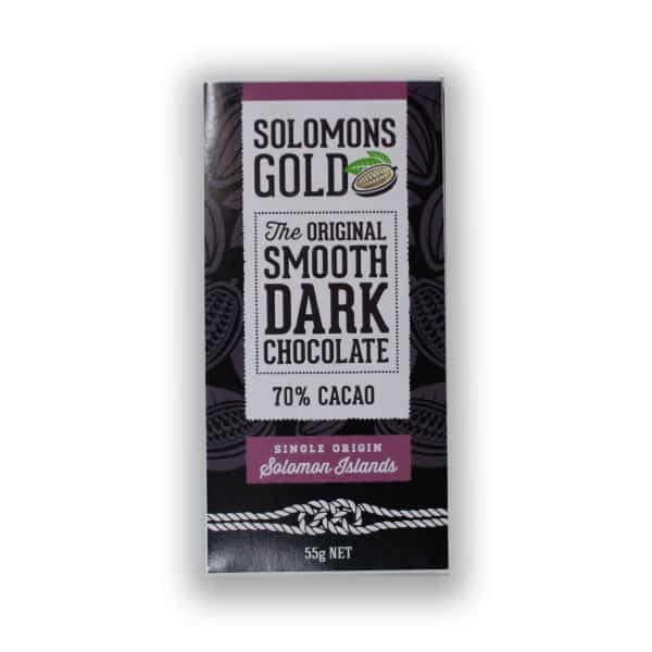 Solomons Gold 70% Dark Chocolate