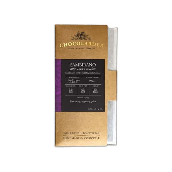 Chocolarder - Madagascar Sambirano 80%