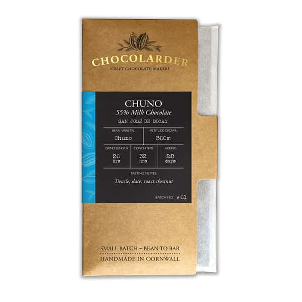 Chocolarder - Chuno 55% Dark Milk Bar