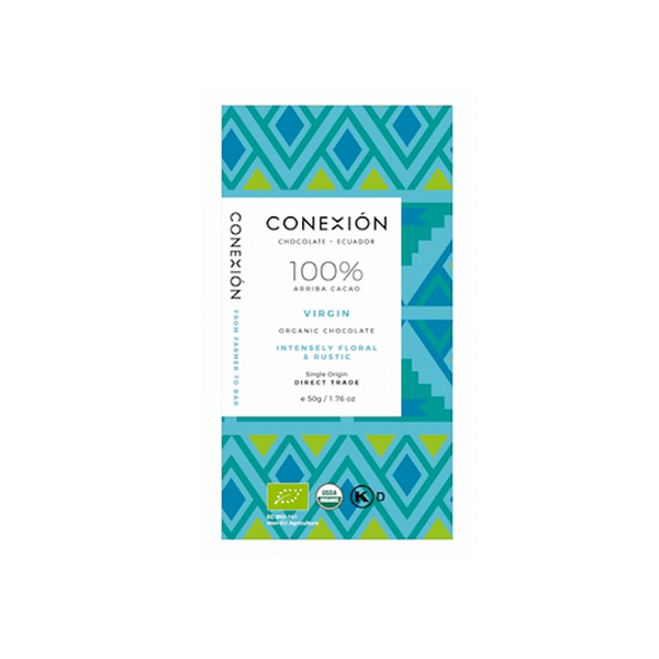 Conexion - 100% Virgin Roast with Cacao Nibs, Apovinces Co-Op, Los Rios