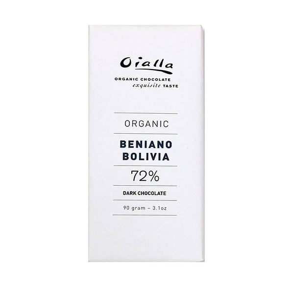 Oialla - Beniano Bolivia 72% (Carton of 15)
