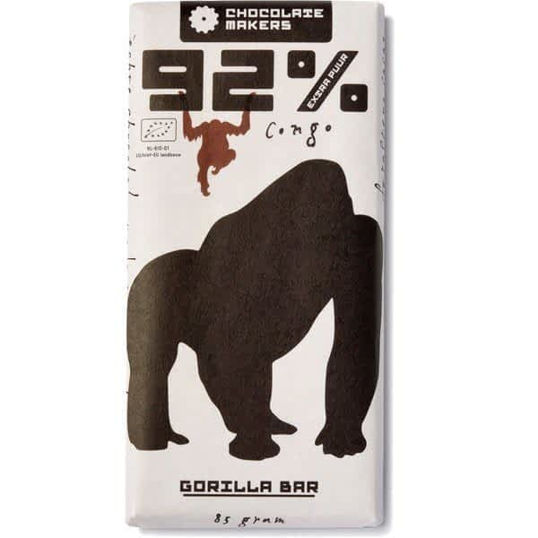 Chocolate Makers Gorilla Bar Extra Dark 92%