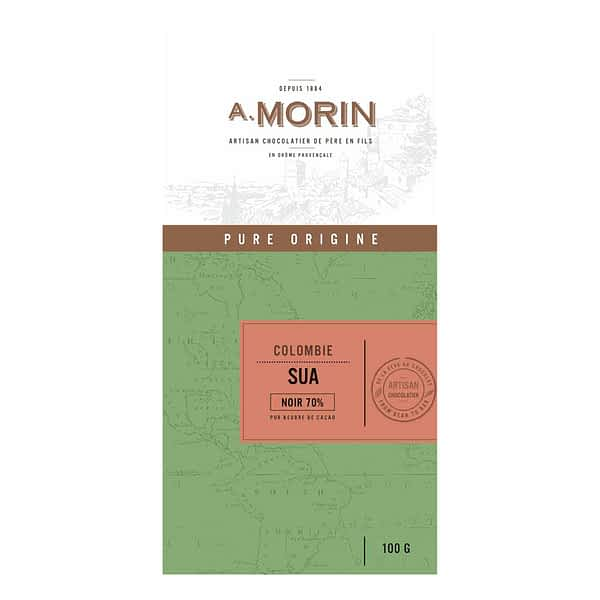 Morin - Colombia Suya 70% Dark Chocolate