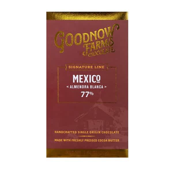 Goodnow Farms Chocolate - Almendra Blanca, Mexico 77%