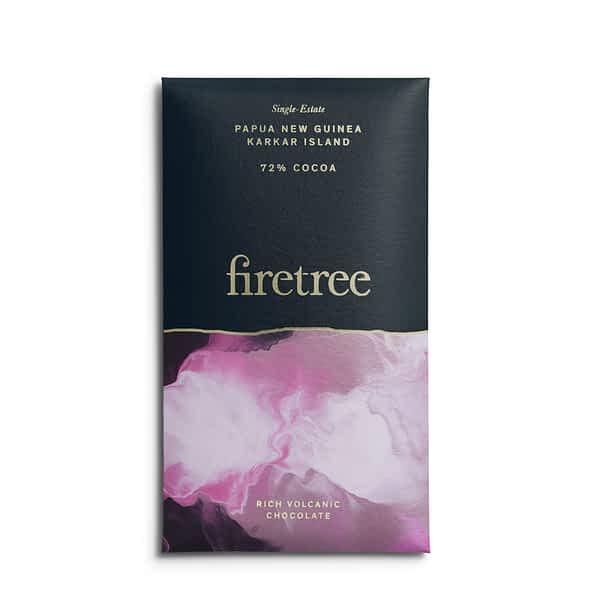 Firetree - Karkar Island, Papua New Guinea 72% Dark Chocolate
