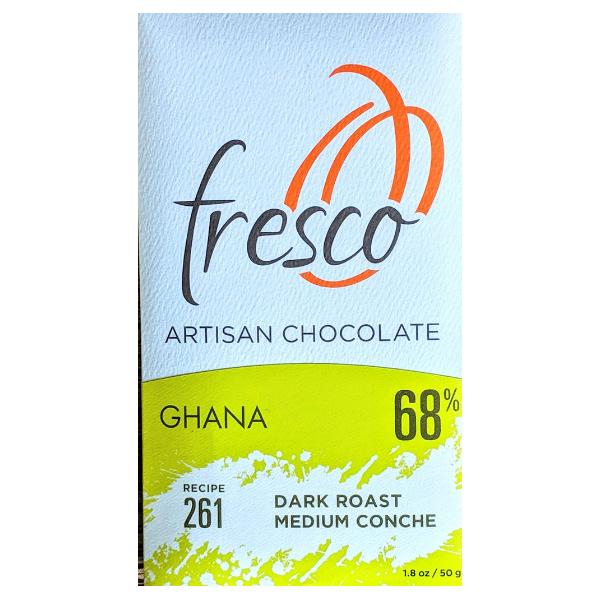 Fresco - 261 Ghana, ABOCFA, Dark Roast Medium Conche 68%