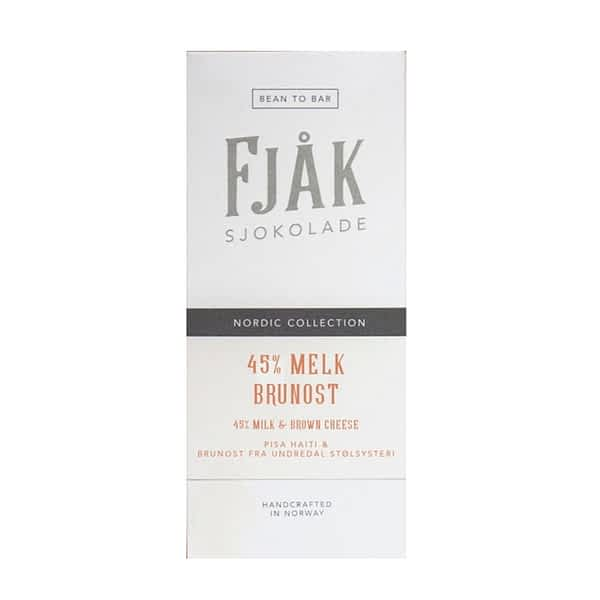 Fjak - 45% Milk & Brown Cheese Chocolate