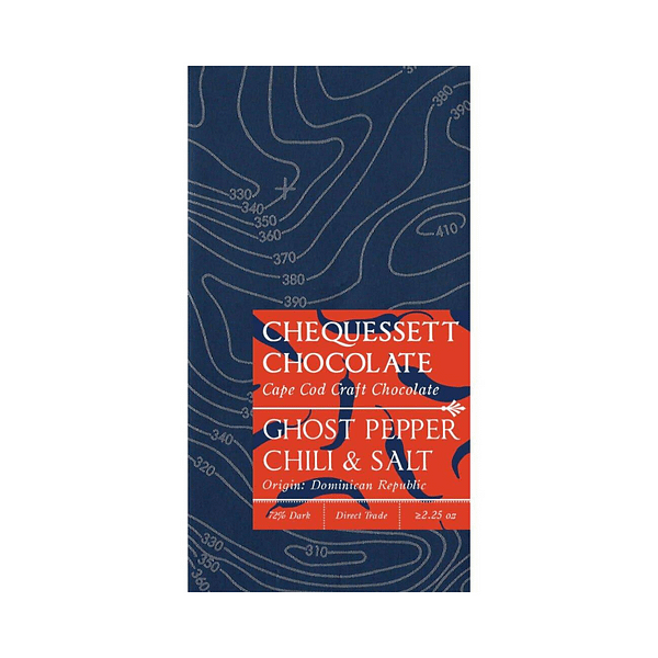 Chequessett - 70% Ghost Pepper Dark Chocolate