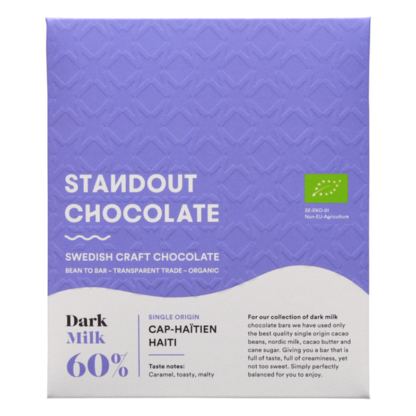 Standout Chocolate - PISA Coop, Haiti Dark Milk 60%