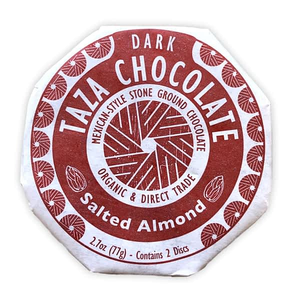 Taza Chocolate - Mexicano Salted Almond (Carton of 12)