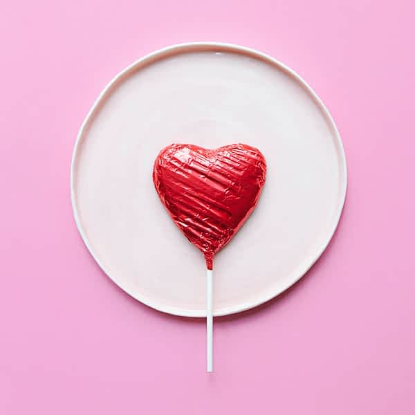 Make Your Own Chocolate Love Hearts - Home Activity Kit