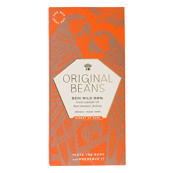 Original Beans - Beni Wild Harvest 66% (Carton of 13)