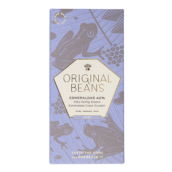 Original Beans - Esmeraldas Milk (Carton of 13)