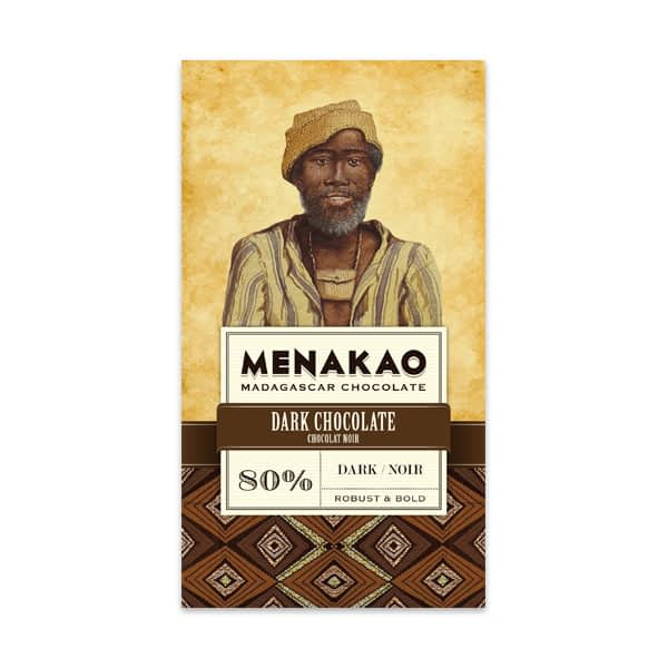 Menakao - 80% Dark (Carton of 12)