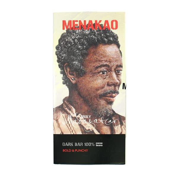 Menakao Dark Chocolate 100% (Taster Bar) (Carton of 24)