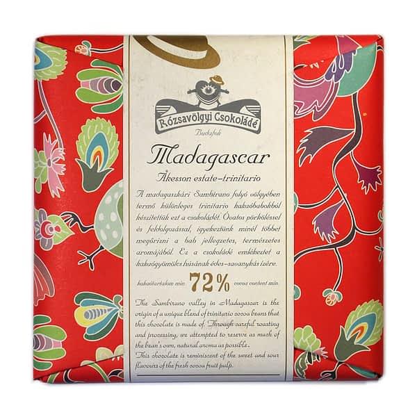 Rózsavölgyi Csokoládé - Madagascar Trinitario 72%