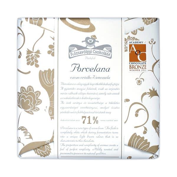 Rózsavölgyi Csokoládé - Porcelana 71%