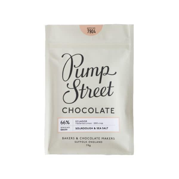 Pump Street Chocolate - Sourdough and Sea Salt