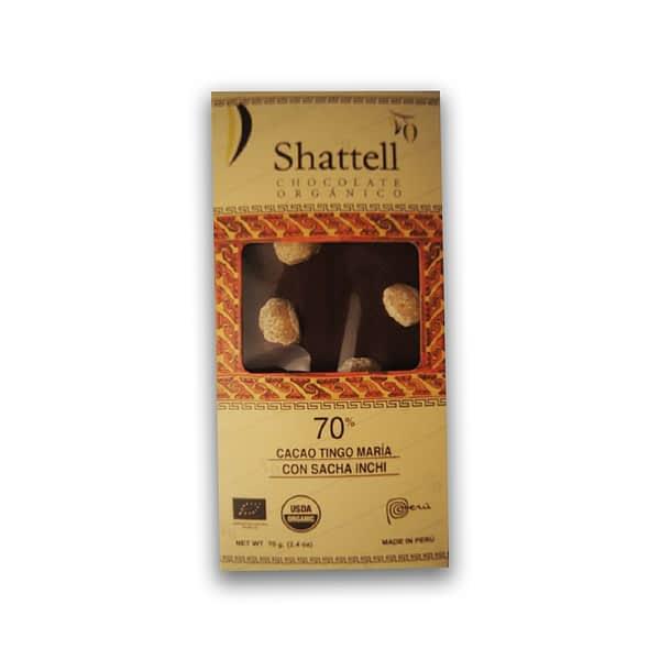 Shattell - Tingo Maria 70% with Sacha Inchi
