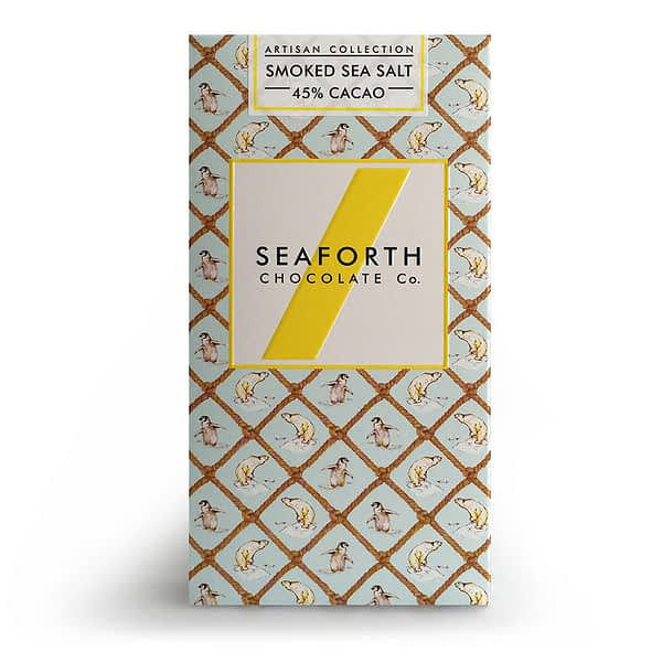 Seaforth - Milk Chocolate with Smoked Sea Salt 45%