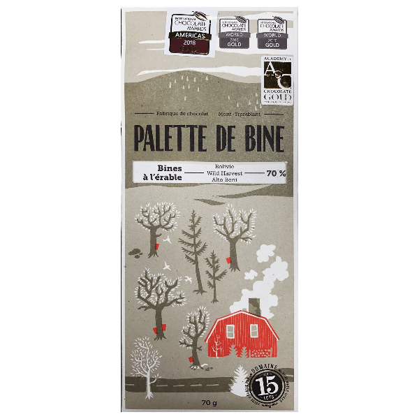 Palette de Bine - Wild Bolivia Maple 70%