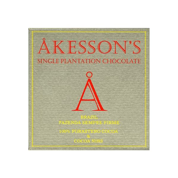 Akesson's - Brazil 100% with Cocoa Nibs