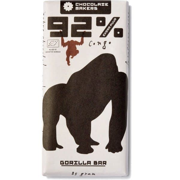 Chocolate Makers Gorilla Bar Extra Dark 92%