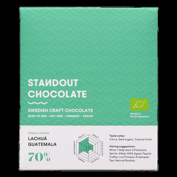 Standout Chocolate - Guatemala Lachuá 70% Dark
