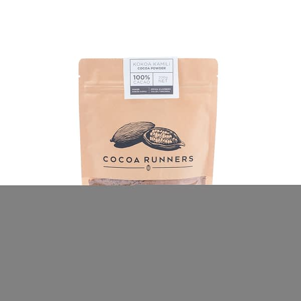 Cocoa Runners Cooking & Baking - Unsweetened Cocoa Powder 200g