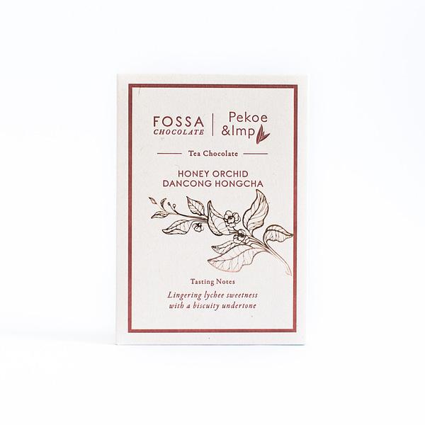 Fossa - Honey Orchid Dancong Hongcha Tea Milk Chocolate
