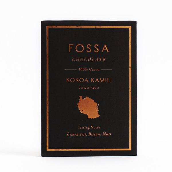 Fossa - Kokoa Kamili, Tanzania 100% Cacao