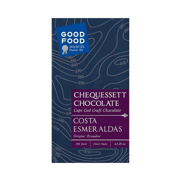 Chequessett - Esmereldas Ecuador 72% Dark Chocolate