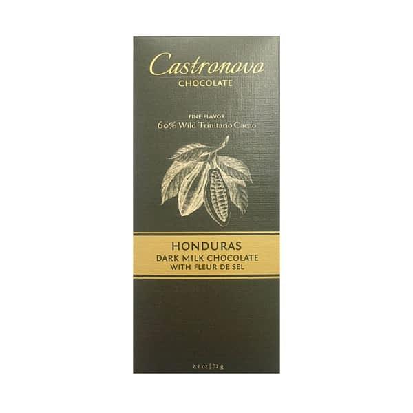 Castronovo - Honduras 60% Dark Milk with Fleur du Sel