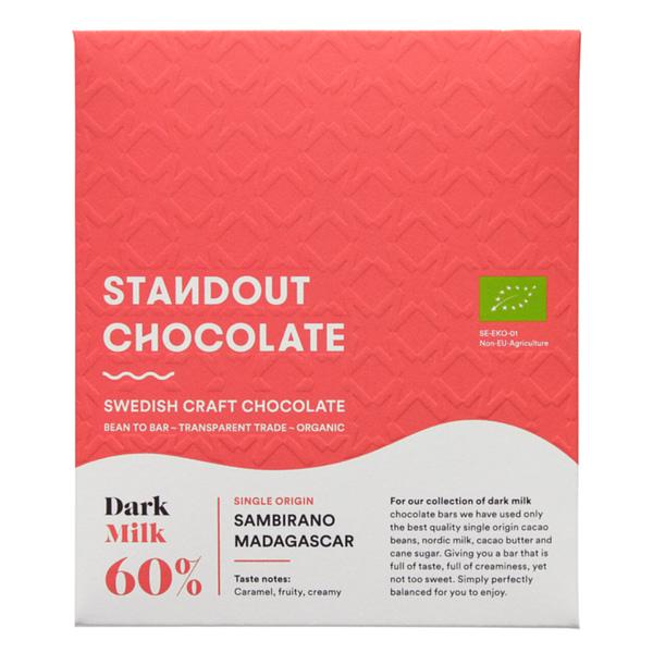 Standout Chocolate - Sambirano Valley, Madagascar Dark Milk 60%