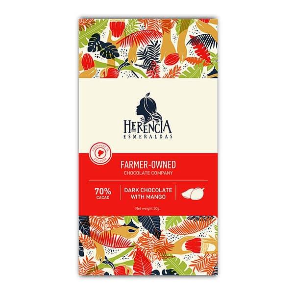 Herencia Esmeraldas - Ecuador 70% with Mango