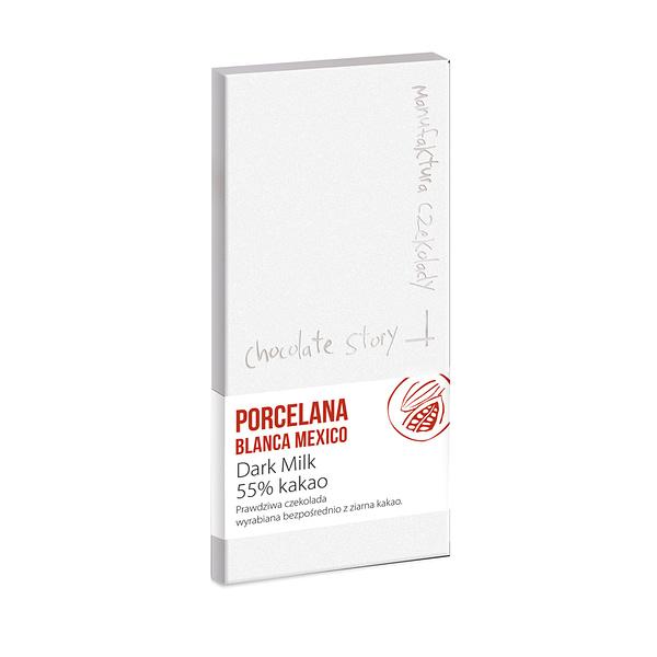 Manufaktura Czekolady - Porcelana Blanca, Mexico 55% Milk