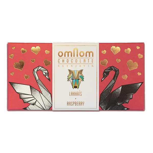 Omnom - Lakkrís + Raspberry