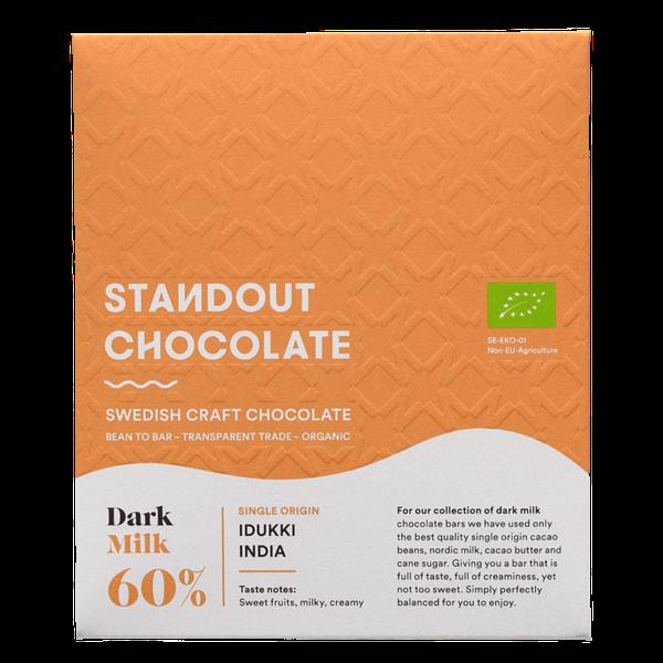 Standout Chocolate - Idukki, India 60% Dark Milk