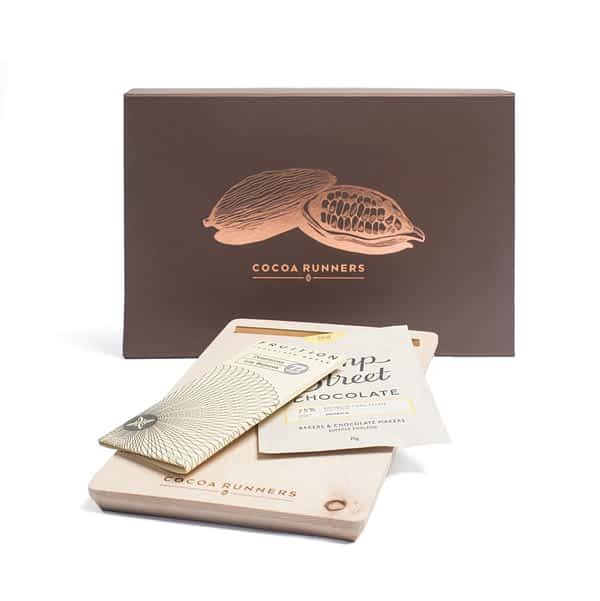 Craft Chocolate Sharing Board - Dark Chocolate