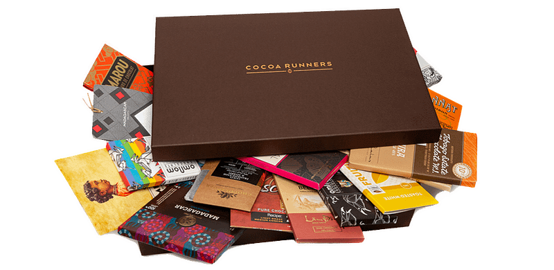 Cocoa Runners hamper filled with chocolate
